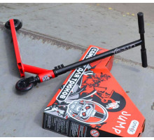 Ateox JUMP Black/Red трюковой самокат для начинающих