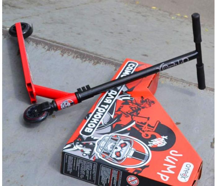Самокат трюковой Ateox JUMP с прямым рулем