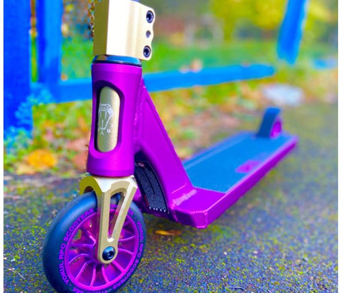 Трюковой самокат VOKUL Saga фиолетовый