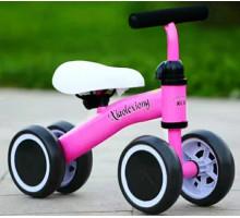 Беговел-каталка для детей от 1 года (розовый)
