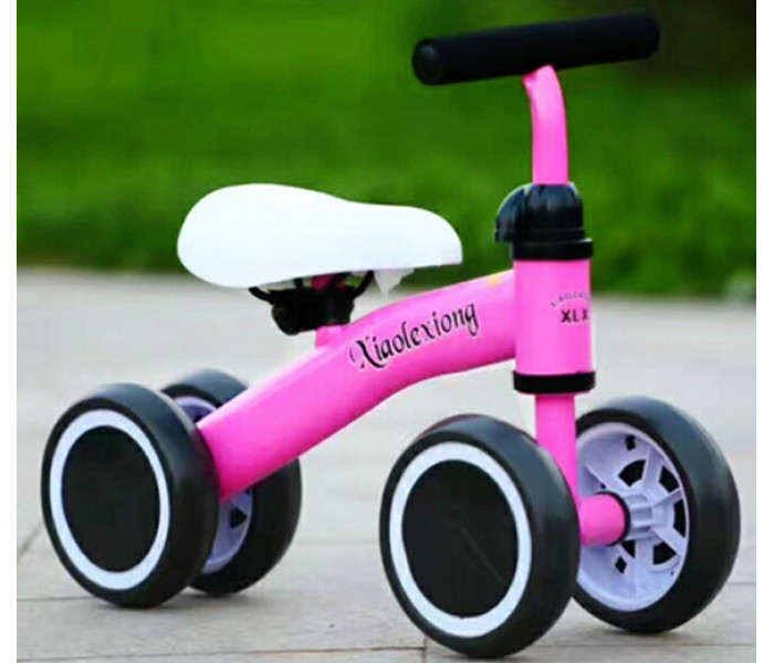 Беговел детский для детей от 1 года (розовый)