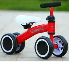 Беговел-каталка для детей от 1 года (красный)