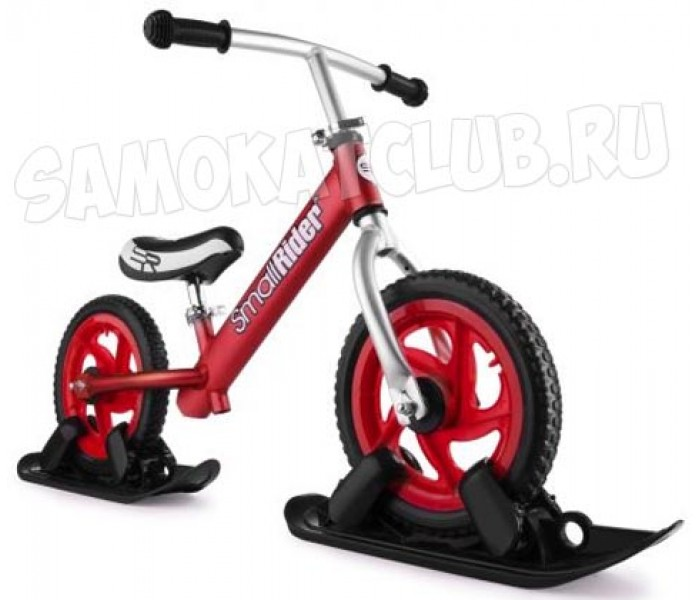 Беговел с лыжами и колесами Small Rider Foot Racer EVA Combo Drift (красный)