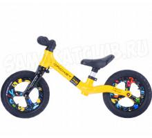 Беговел детский TechTeam TT CRICKET RS желтый (2020)