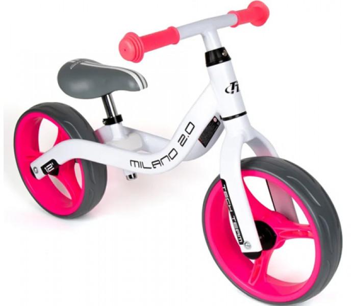 Беговел детский TechTeam TT Milano 2 (2020) бело-розовый