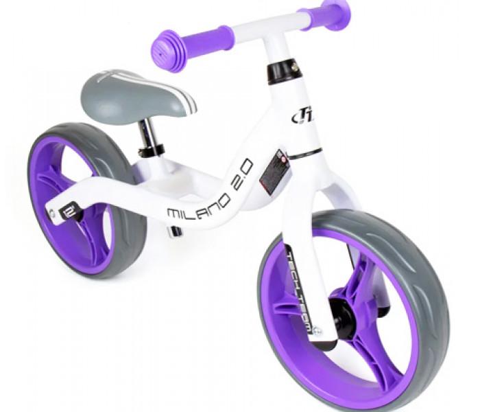 Беговел детский TechTeam TT Milano 2 (2020) бело-фиолетовый