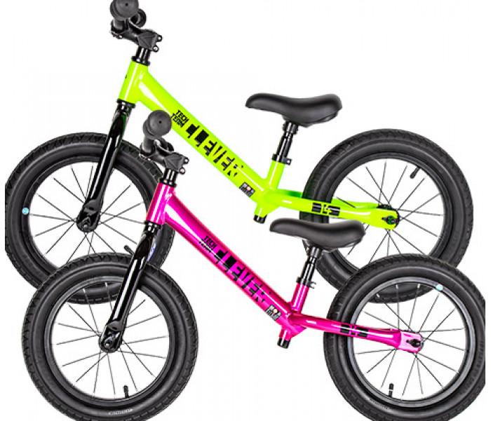 Беговел детский Tech Team TT CLEVER зеленый/розовый