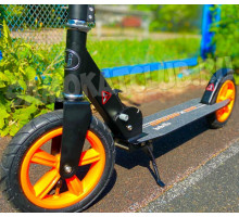 Bibitu Cross Black самокат с надувными колесами