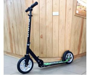 Самокат Bibitu DIRT с надувными колесами (черный)