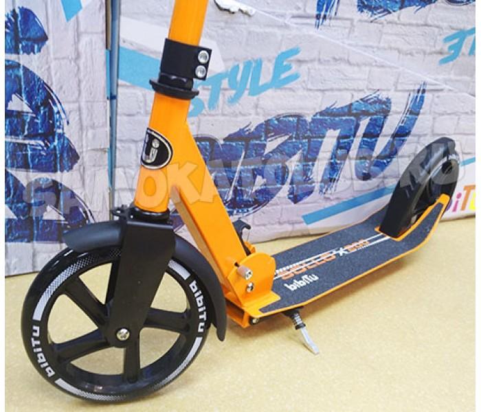 Самокат Bibitu SOLLO с большими колесами 200мм