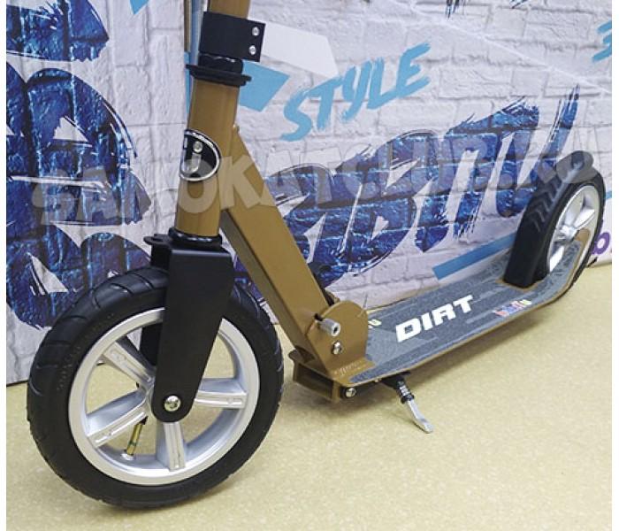 Самокат Bibitu DIRT с надувными колесами 200мм