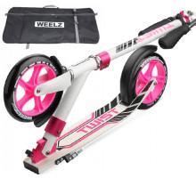 Weelz Twist New бело-розовый самокат для девушек