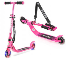 Самокат BLADE Kids Jimmy 125 Pink со светящимися колесами
