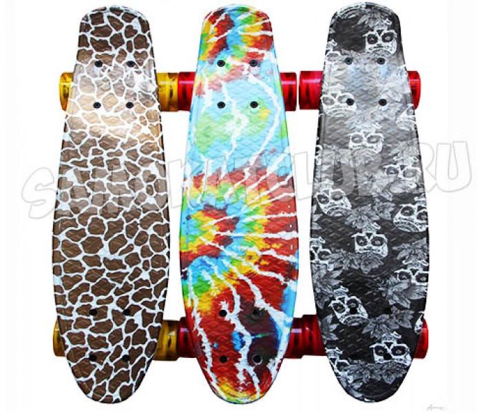 """Скейтборд Explore KROOS 22"""" 2018 с цветным принтом"""