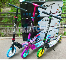 Самокат Ecoline FLASH 200 (2019) со светящимся колесом и амортизатором