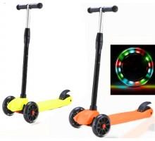 Детский самокат Ecoline Sigma Maxi со светящимися колесами