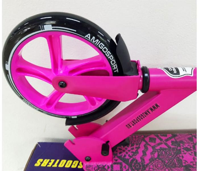 Складной двухколесный самокат Explore Score Pink
