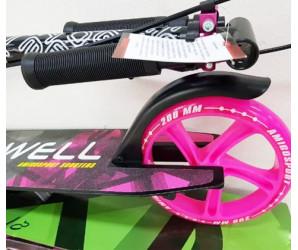 Самокат Explore Dowell Pink (2019) с ручным тормозом