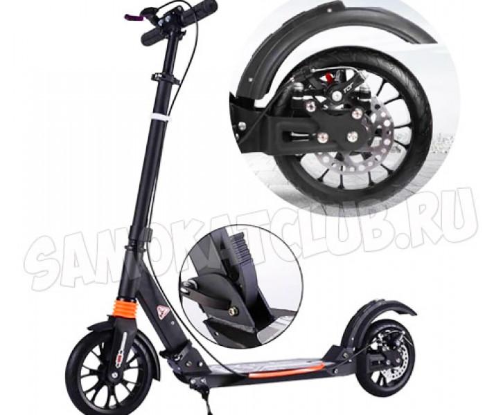 Cамокат Urban Scooter (2020) с дисковым тормозом (черный)