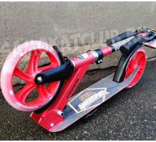 Самокат двухколесный Amigo CREED Red(2020) светится колесо + звонок