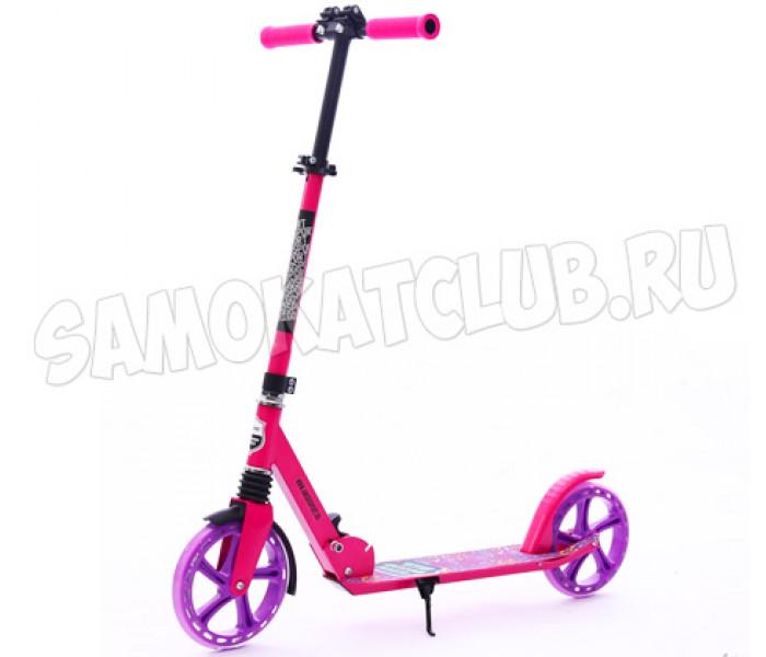 Самокат Amigo Groove Super 200 розовый (светится колесо)