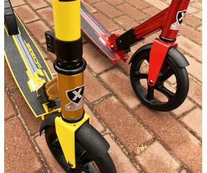 Explore Dagger 180 (красный, желтый) самокат с большими колесами 180мм
