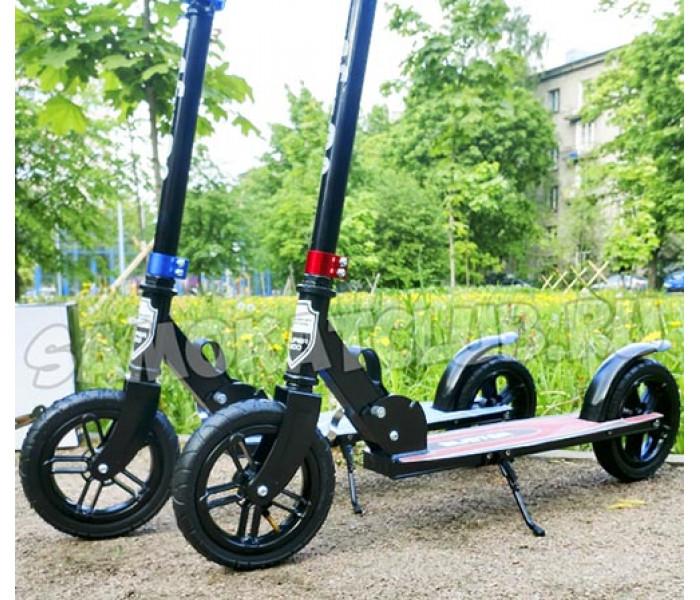 Складной самокат Explore BUSTER с надувными колесами