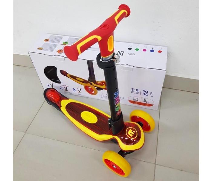 Детский 3-х колесный самокат Ecoline KOMODA 2019