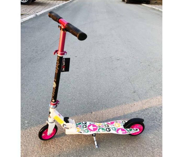 Самокат Explore Artena для детей от 4 лет (розовый)