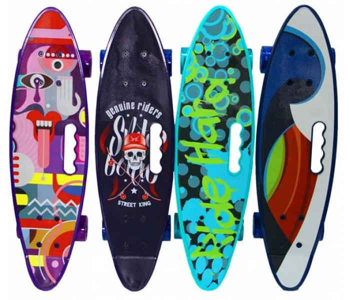 Скейтборд Explore SELECT 2019 колеса светятся при езде