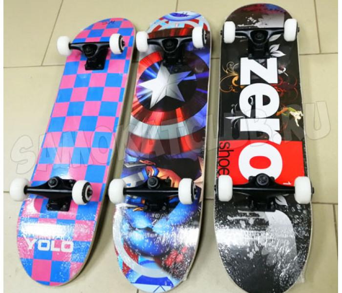 Скейт деревянный Explore Slide Master 31,5х 8