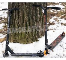 EXPLORE HARD (HIC) трюковой самокат с пегами и металл колесами