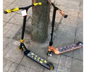 Трюковой самокат Explore Booger (2019) с пегами
