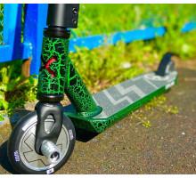 Explore CROCCO HIC зеленый Трюковой самокат с пегами