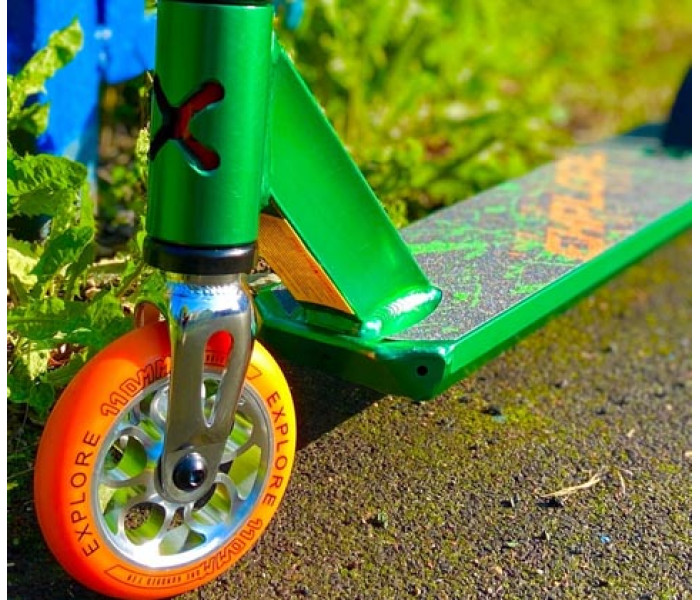 Трюковой самокат Explore Move Green 2020