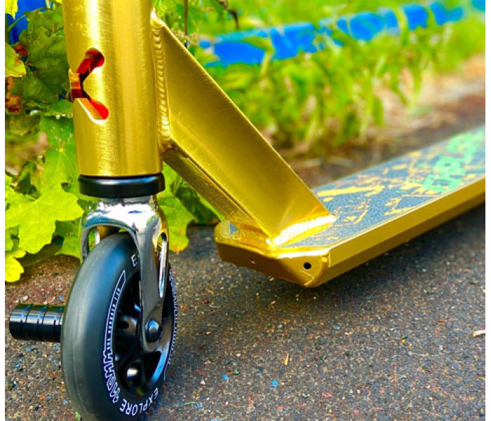 Трюковой самокат Explore Move Gold 2020