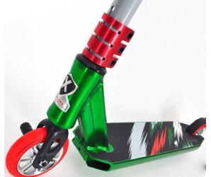 Explore PESCARA HD II зеленый(2021) Трюковой самокат с пегами