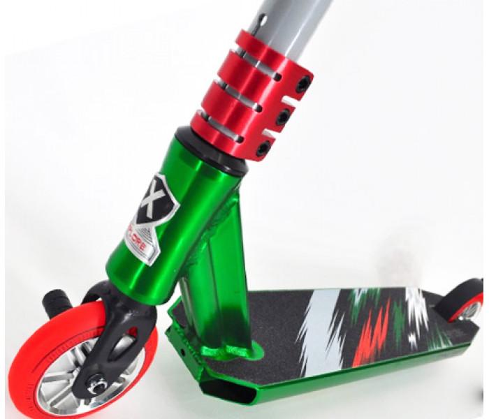 Трюковой самокат Explore PESCARA HD II зеленый