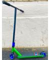 Трюковой самокат Explore STREET SUPER OX (зеленый/серебристый)