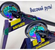 Explore SCAT Chic HD Neo Chrome трюковой самокат 2021г