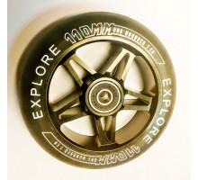 Explore 110мм (металл) ПУ колесо для трюкового самоката с подшипником