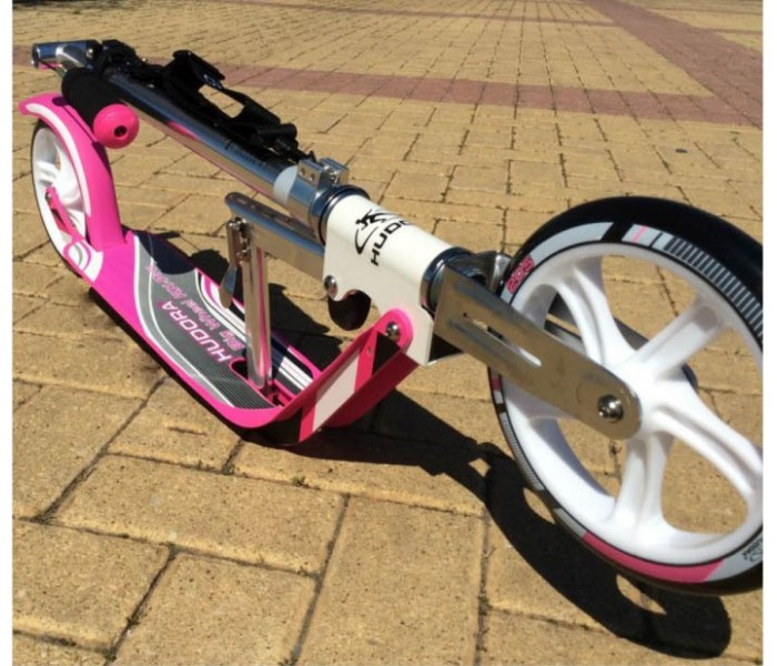 HUDORA Big Wheel RX-Pro 205 Pink (розовый) самокат