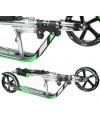 HUDORA Big Wheel RX-Pro 205 (черно-зеленый) самокат