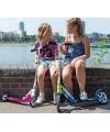 Двухколесный самокат HUDORA Big Wheel 125 для детей от 4 лет