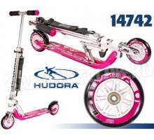 Самокат HUDORA Big Wheel 125 розовый для девочек
