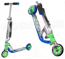 Самокат HUDORA Big Wheel 125 blue-green