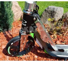 Самокат HUDORA Big Wheel RX-Pro 205 NEW (черно-зеленый)
