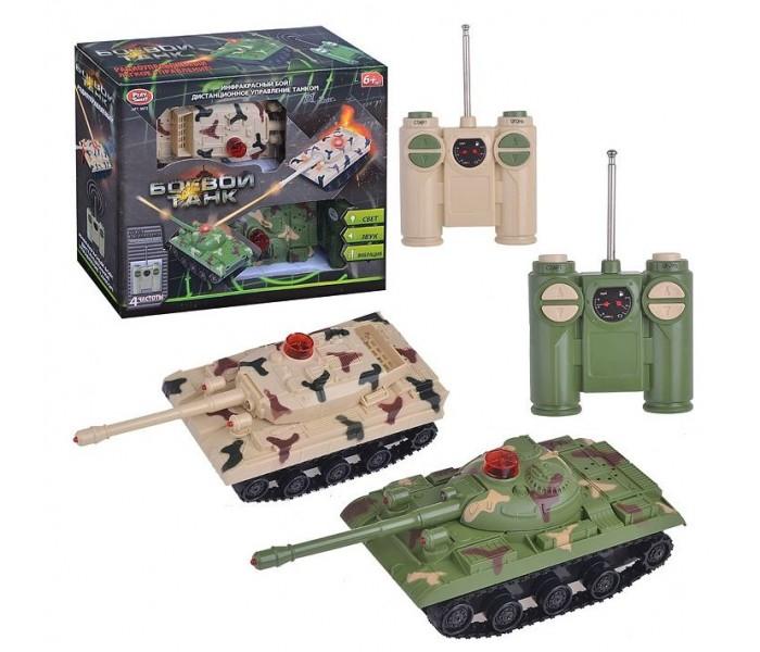 """""""Танковый бой"""" на радиоуправлении. Игровой набор для детей"""