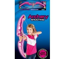 Светящийся лук King Sport со стрелами на присосках