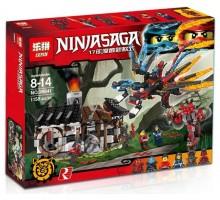 """Конструктор Ninjago """"Кузница Дракона"""" 1158 деталей"""